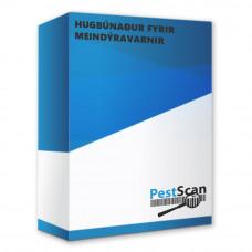 PestScan hugbúnaður á íslensku